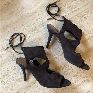 Aquazzura Shoes - cut out suede aquazzura heels